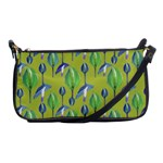 Tropical Floral Pattern Shoulder Clutch Bags