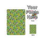 Tropical Floral Pattern Playing Cards 54 (Mini)  Back