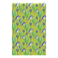 Tropical Floral Pattern Shower Curtain 48  x 72  (Small)