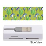 Tropical Floral Pattern Memory Card Reader (Stick)