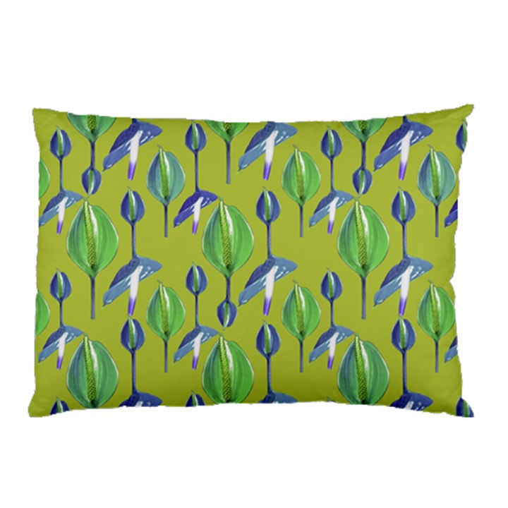 Tropical Floral Pattern Pillow Case (Two Sides)
