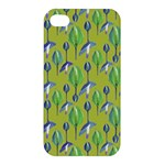 Tropical Floral Pattern Apple iPhone 4/4S Hardshell Case