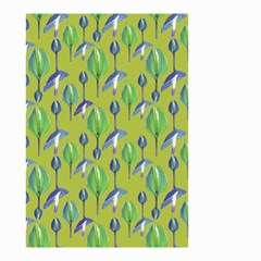 Tropical Floral Pattern Small Garden Flag (Two Sides)
