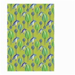 Tropical Floral Pattern Small Garden Flag (Two Sides) Back