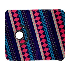 Purple And Pink Retro Geometric Pattern Samsung Galaxy S  Iii Flip 360 Case by DanaeStudio