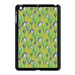 Tropical Floral Pattern Apple iPad Mini Case (Black)