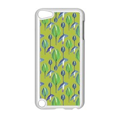 Tropical Floral Pattern Apple iPod Touch 5 Case (White)