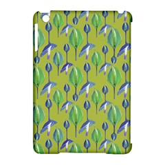 Tropical Floral Pattern Apple iPad Mini Hardshell Case (Compatible with Smart Cover)