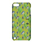 Tropical Floral Pattern Apple iPod Touch 5 Hardshell Case with Stand
