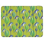 Tropical Floral Pattern Samsung Galaxy Tab 7  P1000 Flip Case