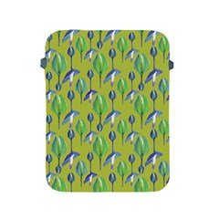 Tropical Floral Pattern Apple iPad 2/3/4 Protective Soft Cases