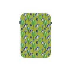 Tropical Floral Pattern Apple iPad Mini Protective Soft Cases