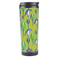 Tropical Floral Pattern Travel Tumbler