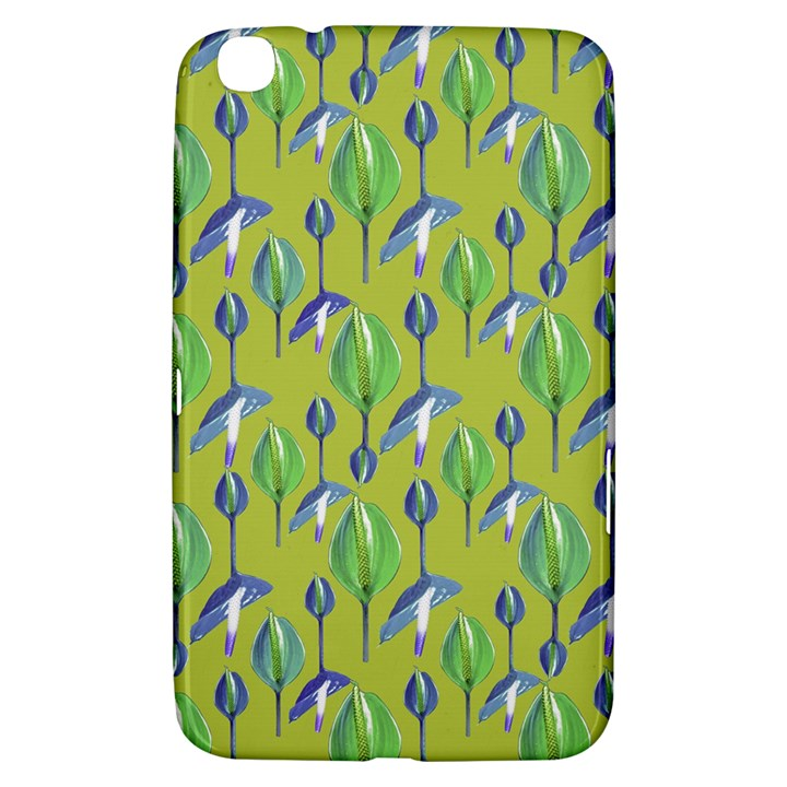Tropical Floral Pattern Samsung Galaxy Tab 3 (8 ) T3100 Hardshell Case
