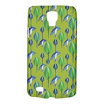 Tropical Floral Pattern Galaxy S4 Active