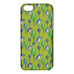 Tropical Floral Pattern Apple iPhone 5C Hardshell Case