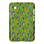 Tropical Floral Pattern Samsung Galaxy Tab 2 (7 ) P3100 Hardshell Case
