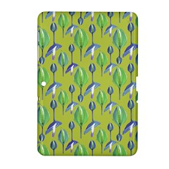 Tropical Floral Pattern Samsung Galaxy Tab 2 (10.1 ) P5100 Hardshell Case