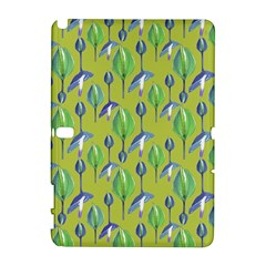 Tropical Floral Pattern Samsung Galaxy Note 10.1 (P600) Hardshell Case