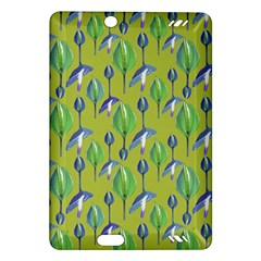 Tropical Floral Pattern Amazon Kindle Fire Hd (2013) Hardshell Case