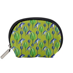 Tropical Floral Pattern Accessory Pouches (Small)