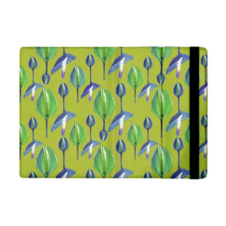 Tropical Floral Pattern iPad Mini 2 Flip Cases