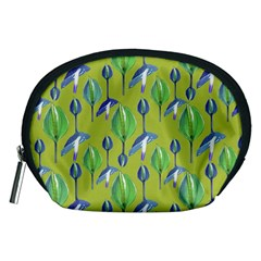 Tropical Floral Pattern Accessory Pouches (Medium)