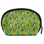 Tropical Floral Pattern Accessory Pouches (Large)  Back