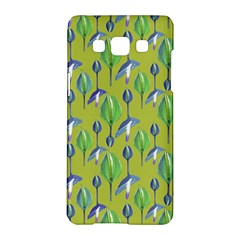 Tropical Floral Pattern Samsung Galaxy A5 Hardshell Case