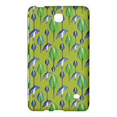 Tropical Floral Pattern Samsung Galaxy Tab 4 (7 ) Hardshell Case