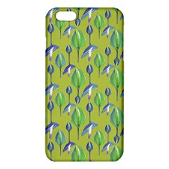 Tropical Floral Pattern iPhone 6 Plus/6S Plus TPU Case