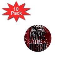 Panic At The Disco Poster 1  Mini Magnet (10 Pack)  by Onesevenart