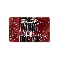 Panic At The Disco Poster Magnet (name Card) by Onesevenart