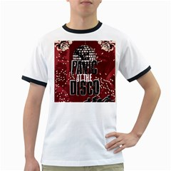 Panic At The Disco Poster Ringer T Shirts by Onesevenart