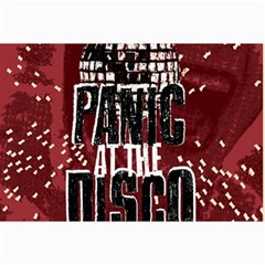 Panic At The Disco Poster Collage Prints by Onesevenart