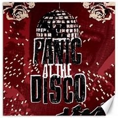 Panic At The Disco Poster Canvas 16  X 16   by Onesevenart