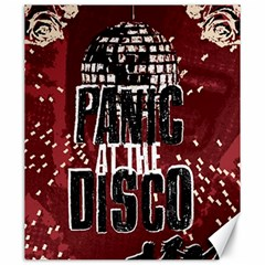 Panic At The Disco Poster Canvas 20  X 24   by Onesevenart