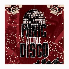 Panic At The Disco Poster Medium Glasses Cloth by Onesevenart