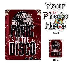 Panic At The Disco Poster Multi Purpose Cards (rectangle)  by Onesevenart