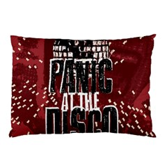 Panic At The Disco Poster Pillow Case by Onesevenart