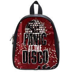 Panic At The Disco Poster School Bags (small)  by Onesevenart