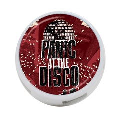 Panic At The Disco Poster 4 Port Usb Hub (two Sides)  by Onesevenart