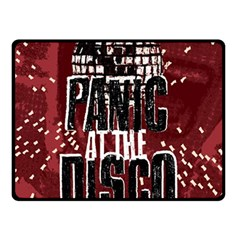 Panic At The Disco Poster Fleece Blanket (small) by Onesevenart