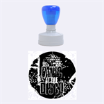 Panic At The Disco Poster Rubber Round Stamps (Medium)
