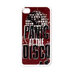 Panic At The Disco Poster Apple Iphone 4 Case (white) by Onesevenart