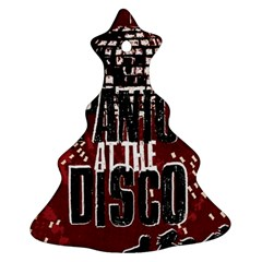 Panic At The Disco Poster Ornament (Christmas Tree) by Onesevenart