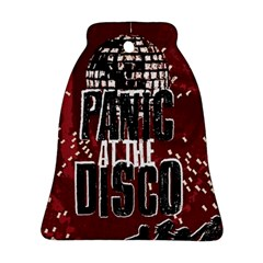 Panic At The Disco Poster Bell Ornament (2 Sides) by Onesevenart