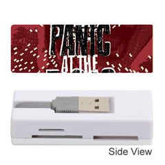 Panic At The Disco Poster Memory Card Reader (stick)  by Onesevenart