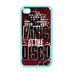 Panic At The Disco Poster Apple Iphone 4 Case (color) by Onesevenart