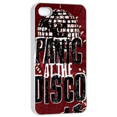 Panic At The Disco Poster Apple Iphone 4/4s Seamless Case (white) by Onesevenart